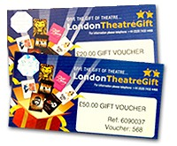 �60 London Theatre Voucher and Gift Wallet